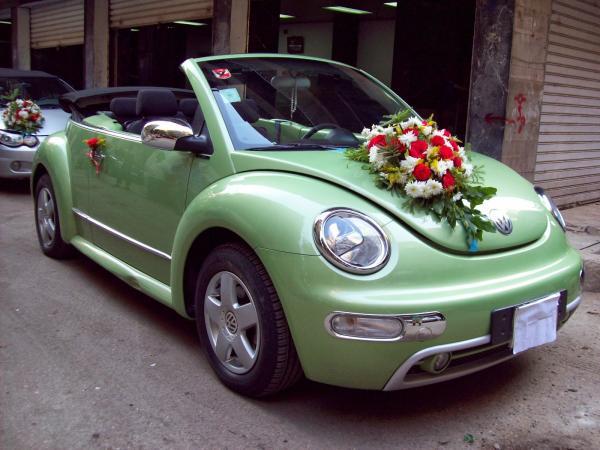 انديجو جلت - سيارة الزفة - دبي