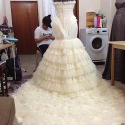 ابراج الغالية-فستان الزفاف-مدينة الكويت-2