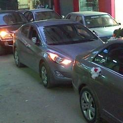 غزالة لتاجير السيارات-سيارة الزفة-القاهرة-6
